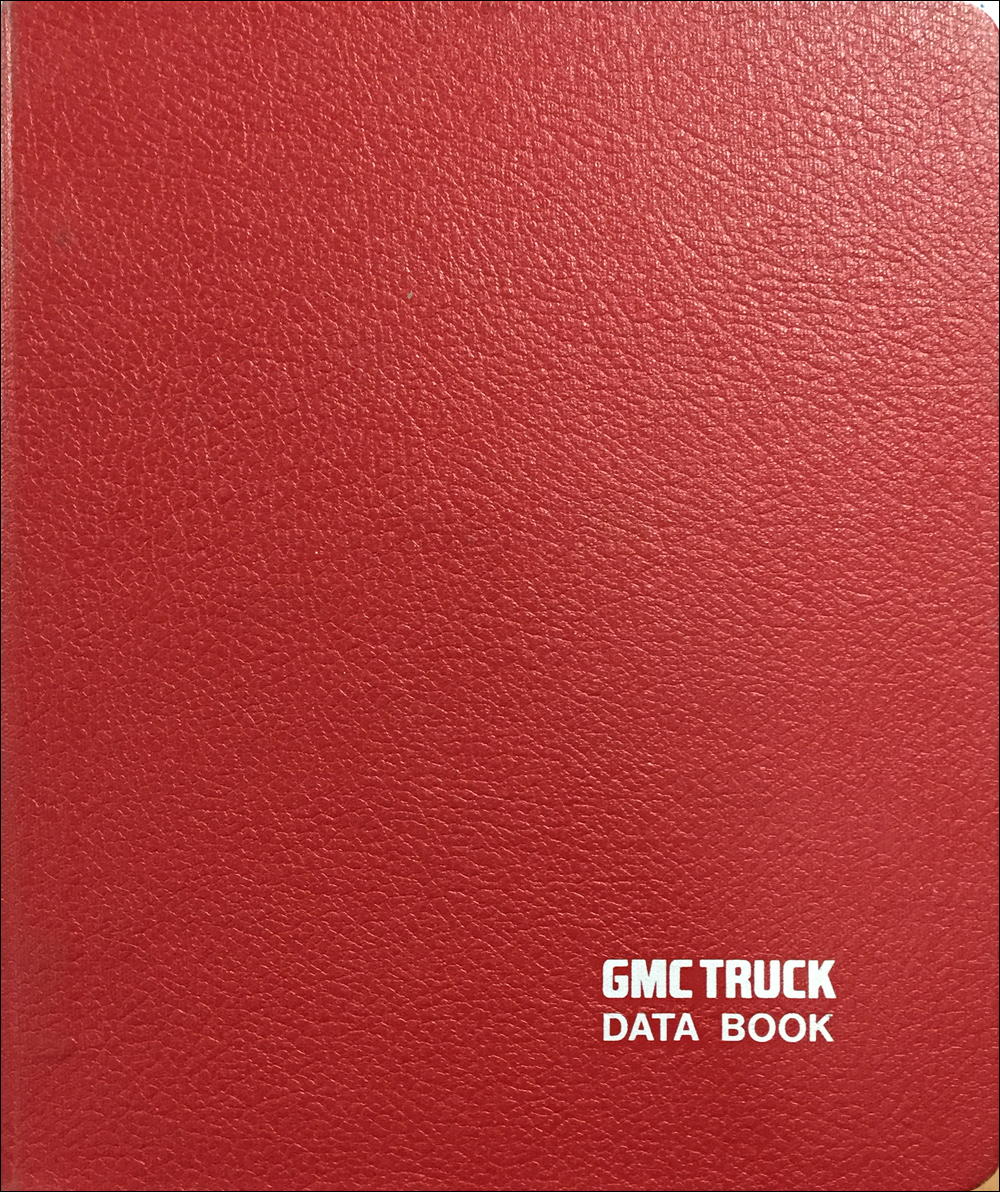 1986 GMC Medium Duty Data Book Original