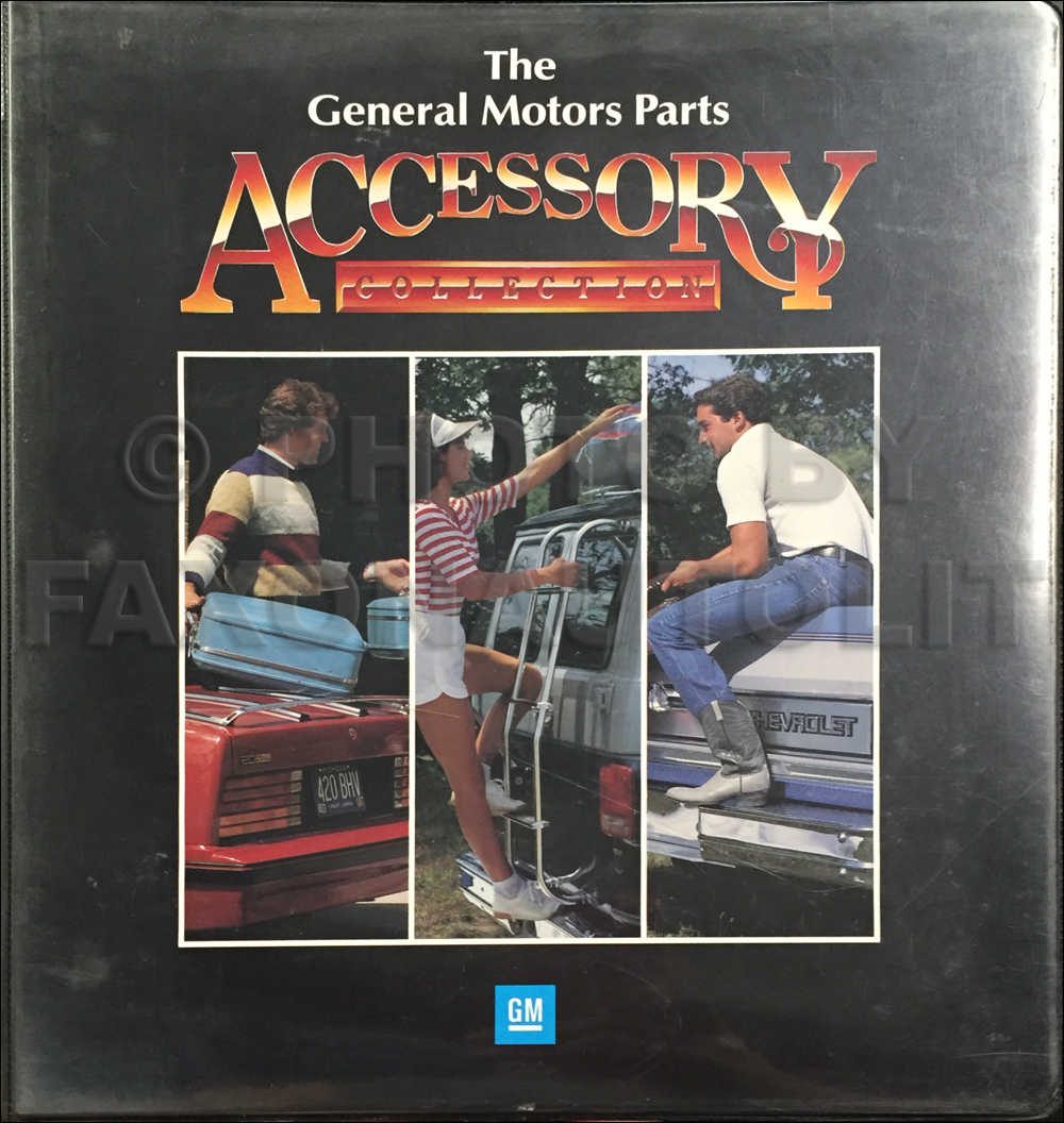 1986 GM Accessories Dealer Album Original