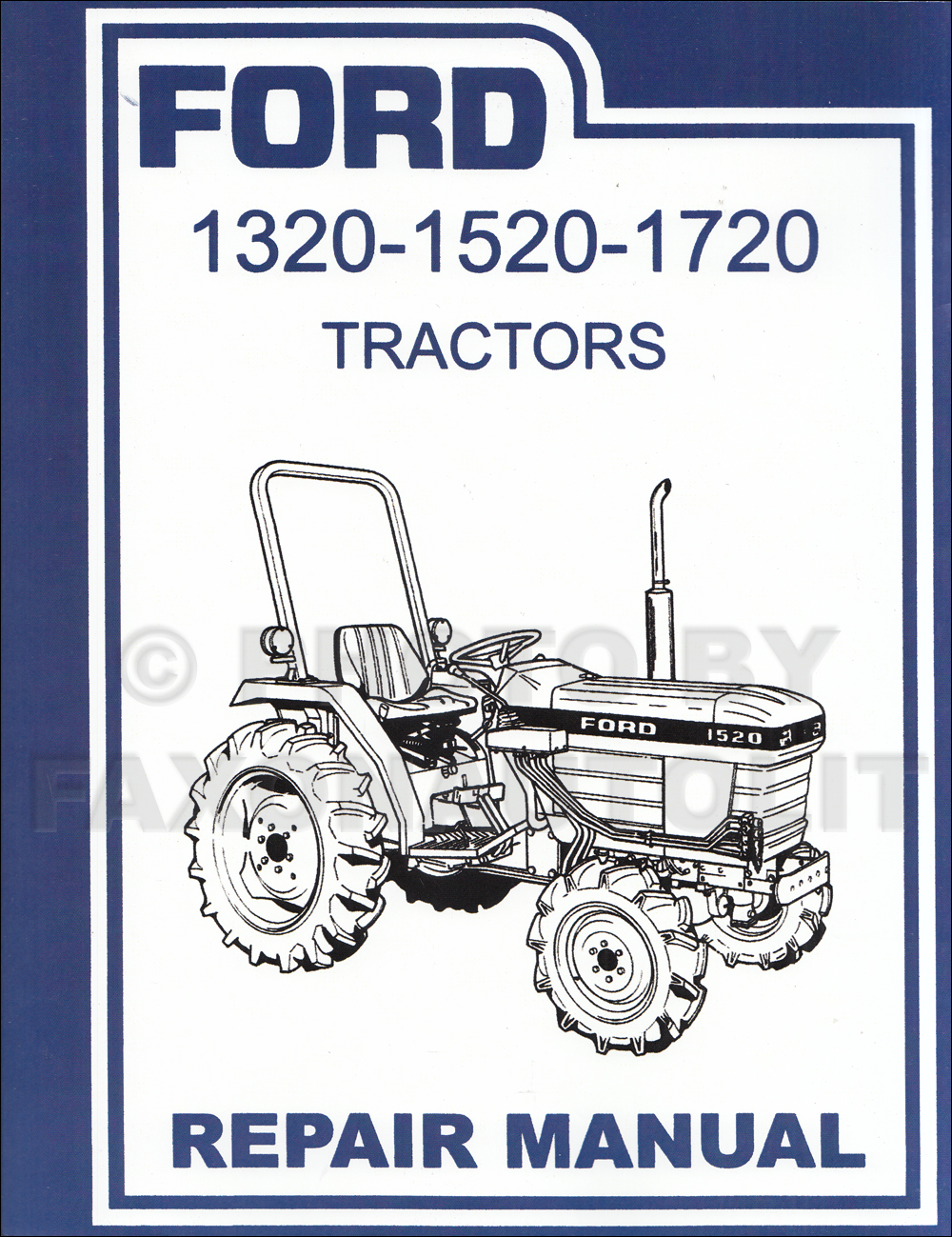 1955-1960 Ford 600 thru 901 series Tractor Shop Manual Reprint