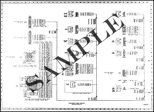 1987 Chevy and GMC S7 Bus Chassis Wiring Diagram Original