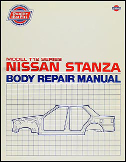 1988    Nissan       Stanza    Wagon Repair Shop Manual Original