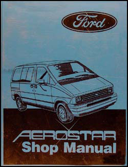 1987 Ford Aerostar Original Repair Manual