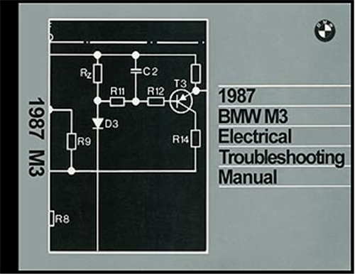 1987 BMW M3 Electrical Troubleshooting Manual Reprint