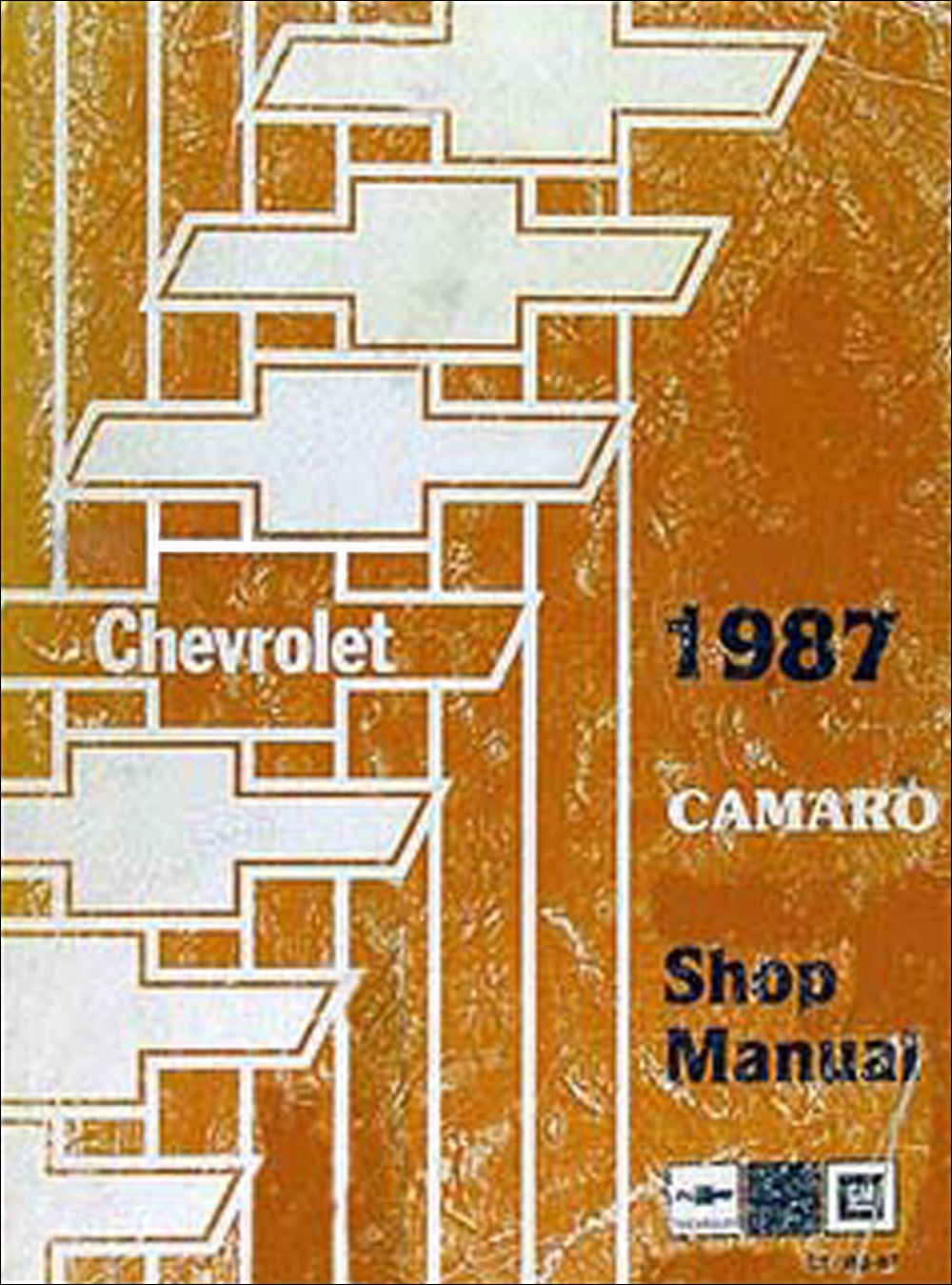 1987 Chevy Camaro Repair Manual Original