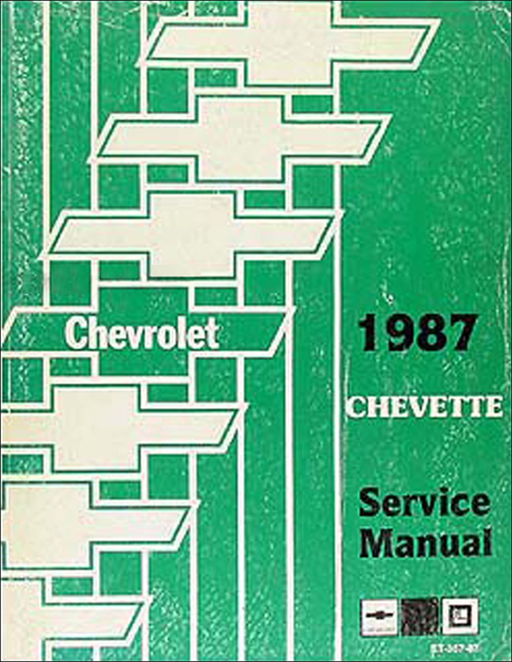 1987 Chevy Chevette Repair Manual Original