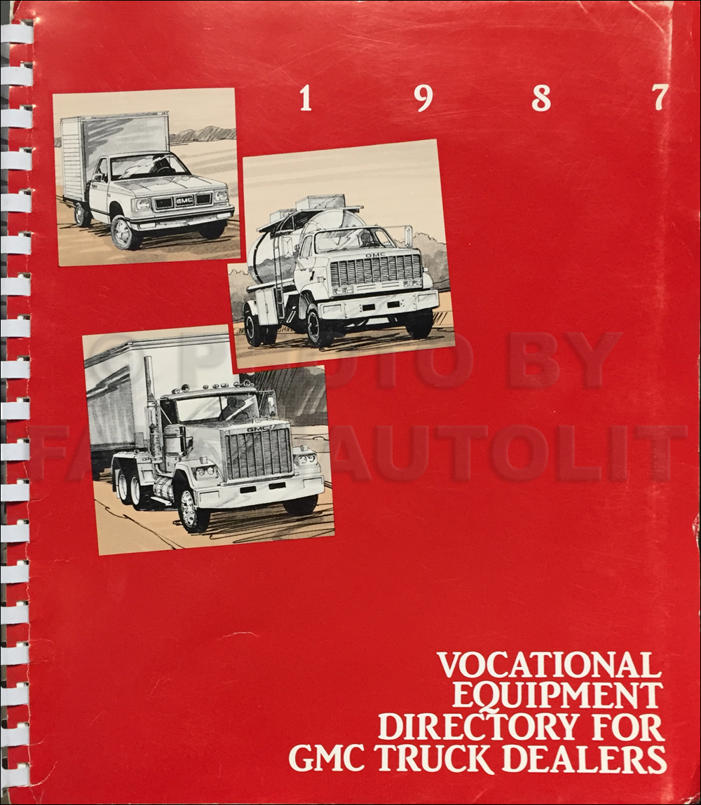 1987 GMC Truck Vocational Special Equipment Catalog