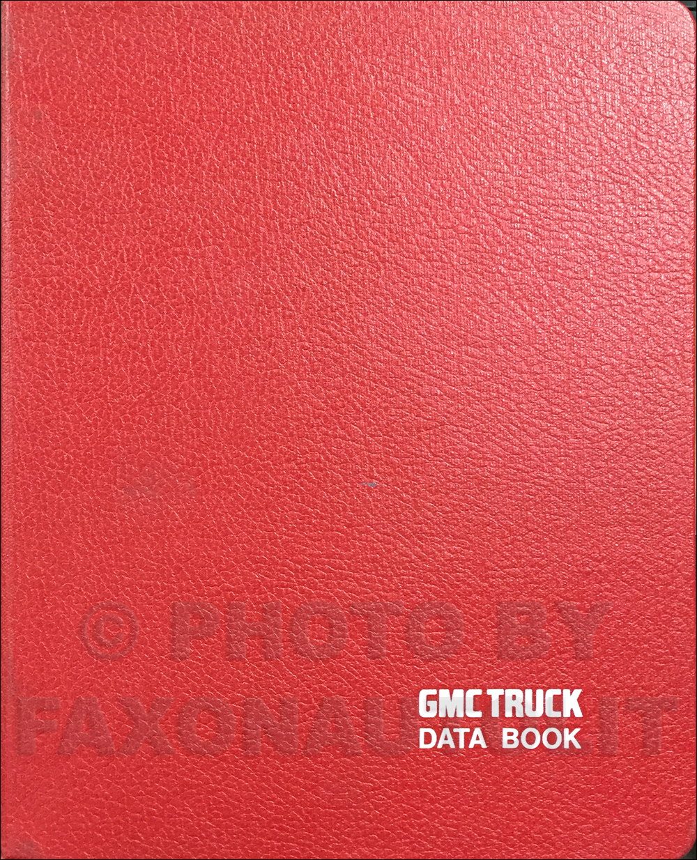 1987 GMC Heavy Duty Data Book Original Astro, Brigadier, General