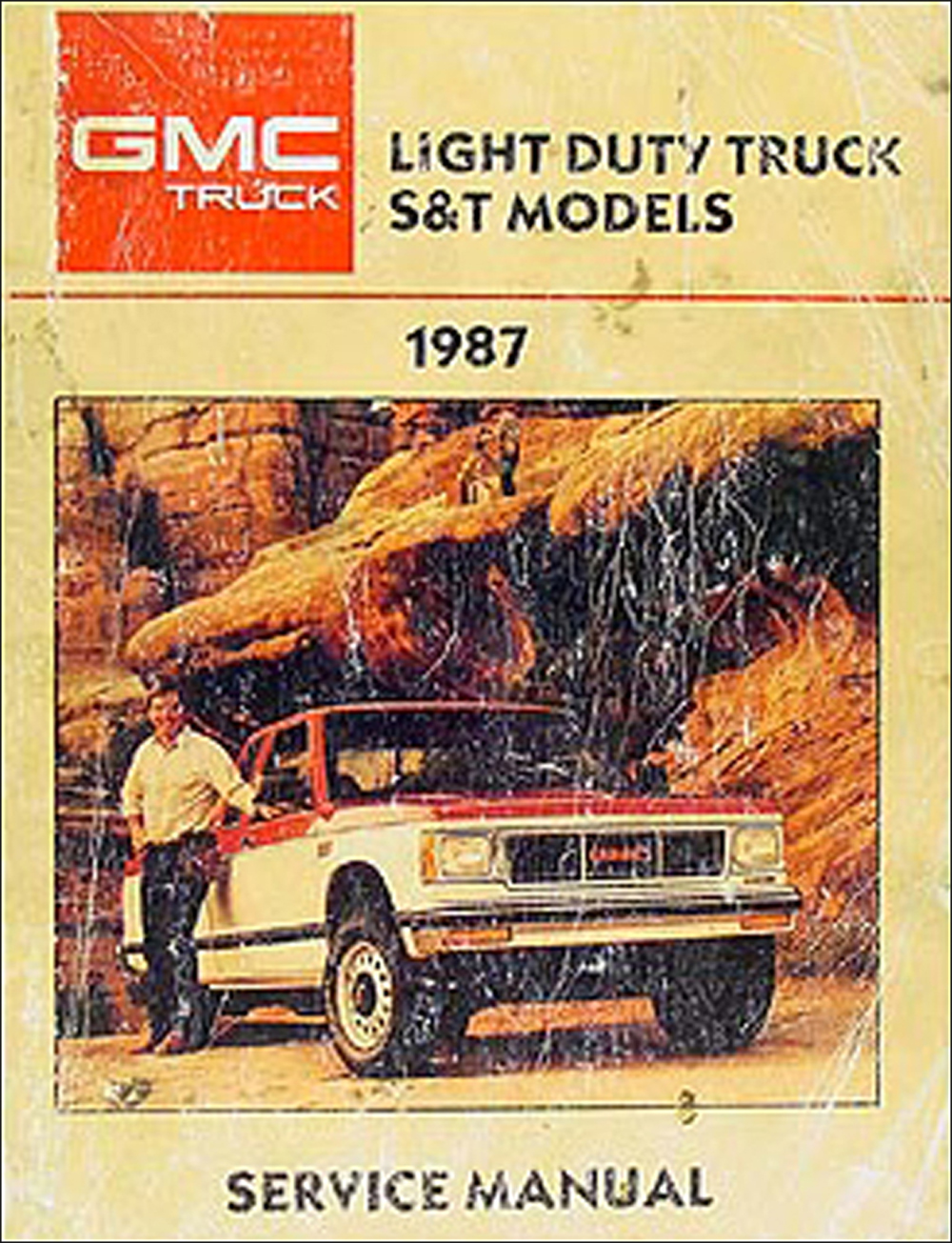 1987 GMC S-15 Pickup & Jimmy Shop Manual Original