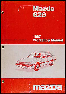 1987 Mazda 626 Repair Manual Original