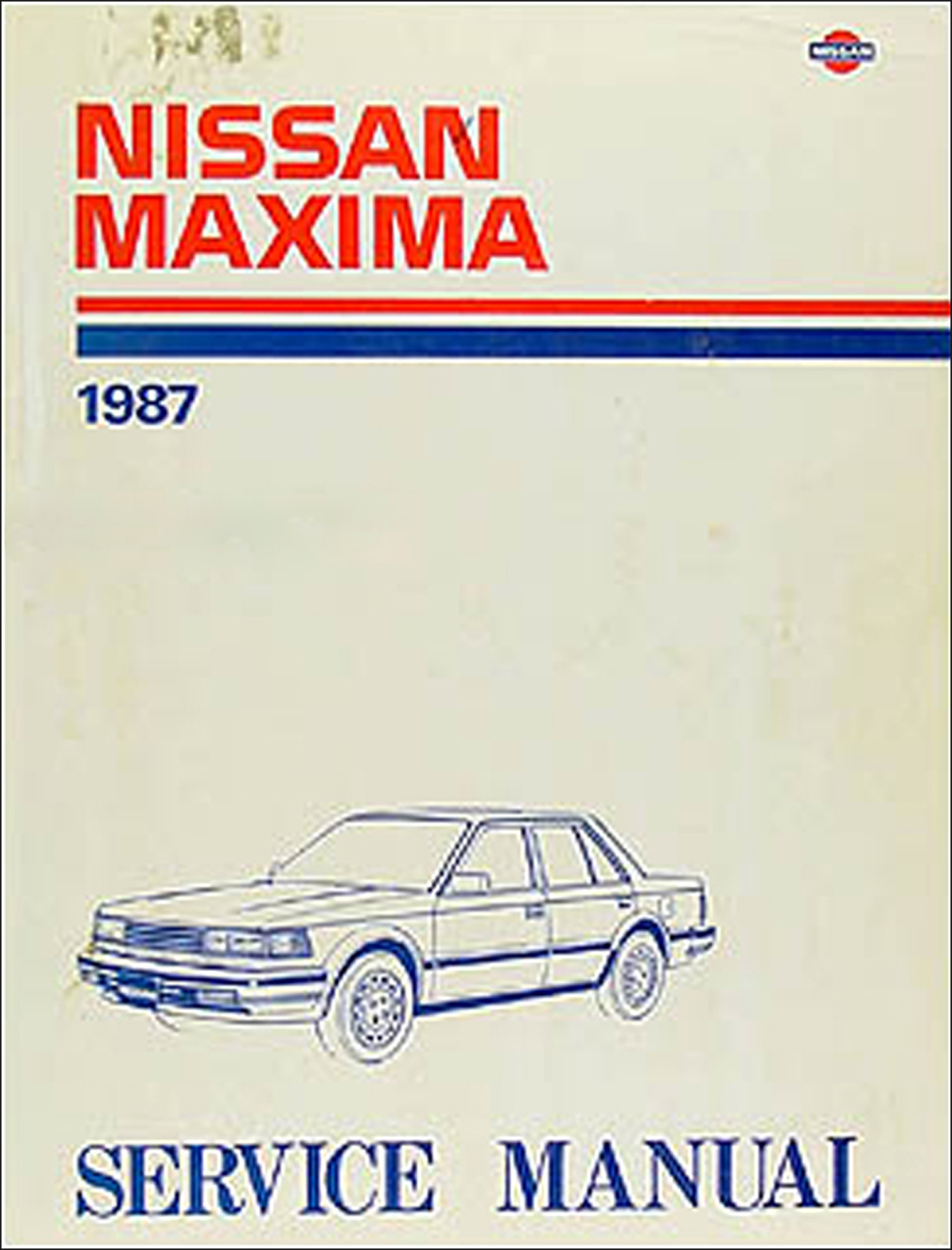 1987 Nissan Maxima Repair Manual Original