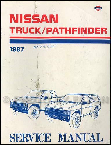 1988 Nissan Truck/Pathfinder Repair Manual Original