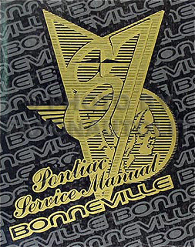 1987 Pontiac Bonneville Repair Manual Original
