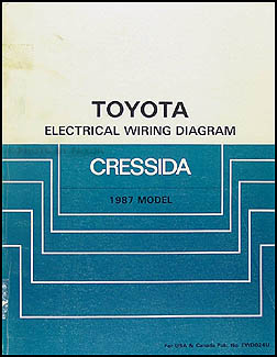 1987 toyota cressida wiring diagram manual original rh faxonautoliterature com