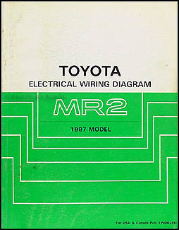 1987 toyota mr2 wiring diagram manual original 1986 Volvo 240 Wiring Diagrams