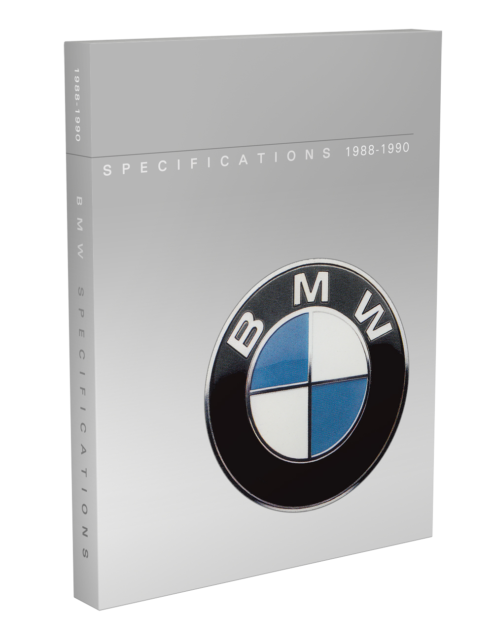 1988-1990 BMW Service Specifications Manual Reprint