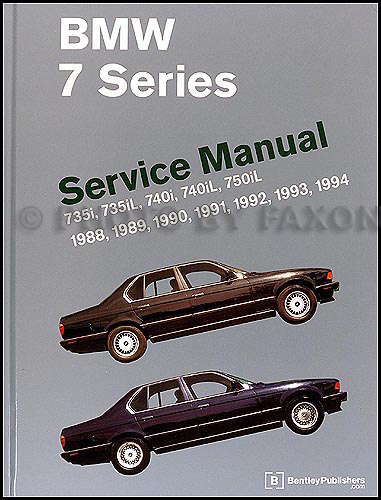 1988-94 BMW 7 SeriesRepair Manual