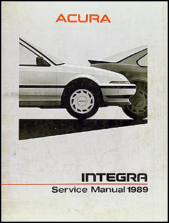 1988 Acura Integra Shop Manual Original
