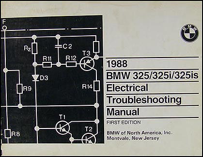 1988 BMW 325/325i/325is Electrical Troubleshooting Manual