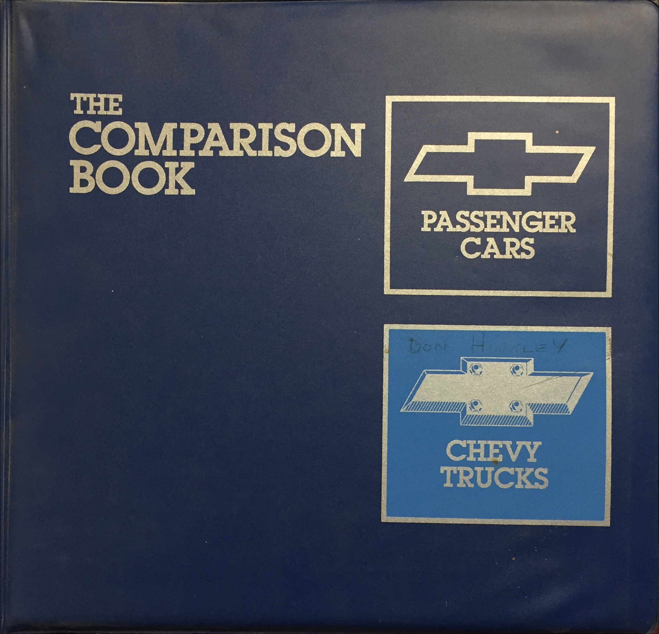 1988 Chevrolet Car and Truck Competitive Comparison Dealer Album Original