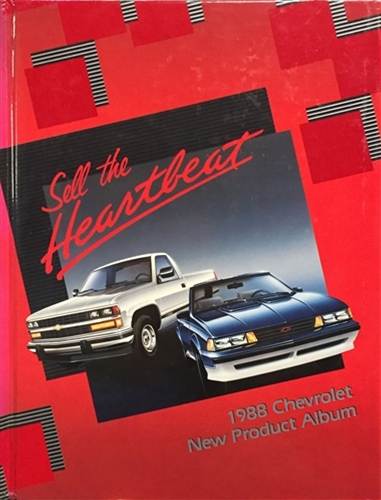 1988 Chevrolet Sales Training Album Original