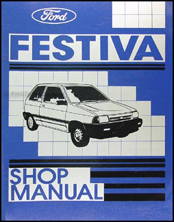 1988 Ford Festiva Repair Manual Original