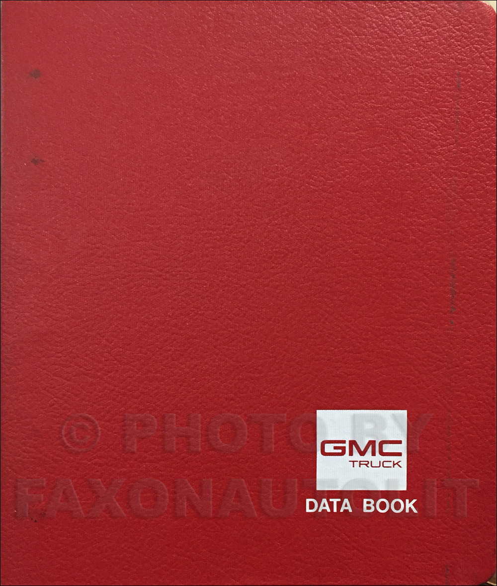 1988 GMC and Chevy Medium Duty Data Book Original