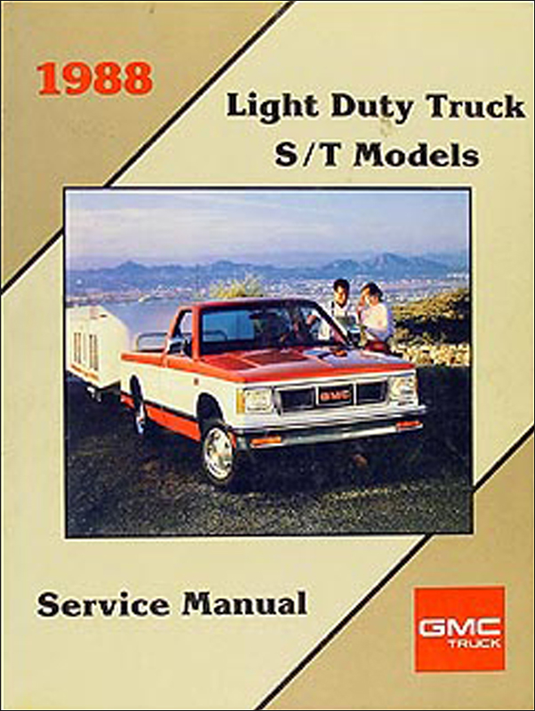 1988 GMC S-15 Pickup & Jimmy Shop Manual Original