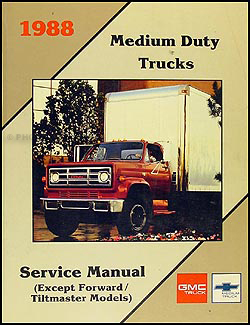 1988-1989 GMC/Chevy Medium Duty 4000-7000 Repair Manual Original