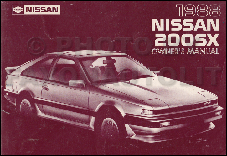 1988 Nissan 200sx Wiring Diagram Manual Original