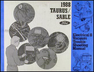 1988 Ford Taurus and Mercury Sable Electrical Troubleshooting Manual