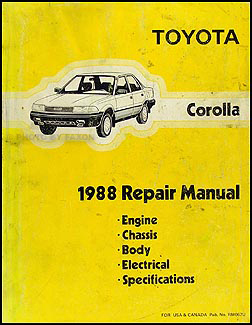Download toyota corolla service repair manual / zofti free downloads.