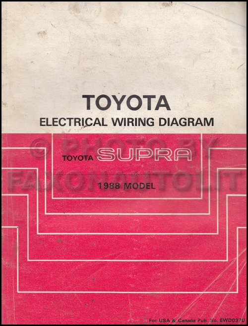 1988 toyota supra wiring diagram manual original1989 Toyota Supra Wiring Diagram Manual Original #1