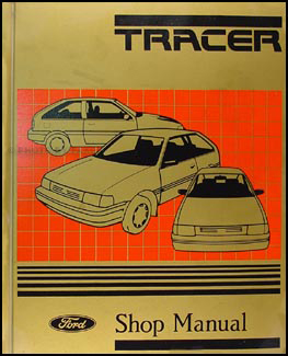 1988-1989 Mercury Tracer Repair Manual Original
