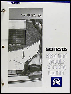 1989-1991 Hyundai Sonata Electrical Troubleshooting Manual Original