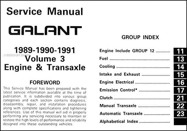 1989 1991 mitsubishi galant repair shop manual set original rh faxonautoliterature com mitsubishi galant manual pdf mitsubishi galant manual free