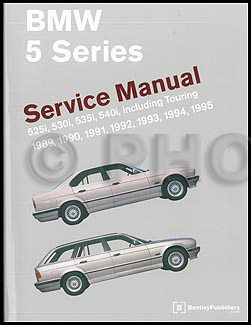 1989-1995 BMW 525i, 535i, 540i Bentley Repair Manual