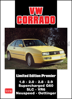 Collection of 23 Articles on VW Corrado 1989-1995