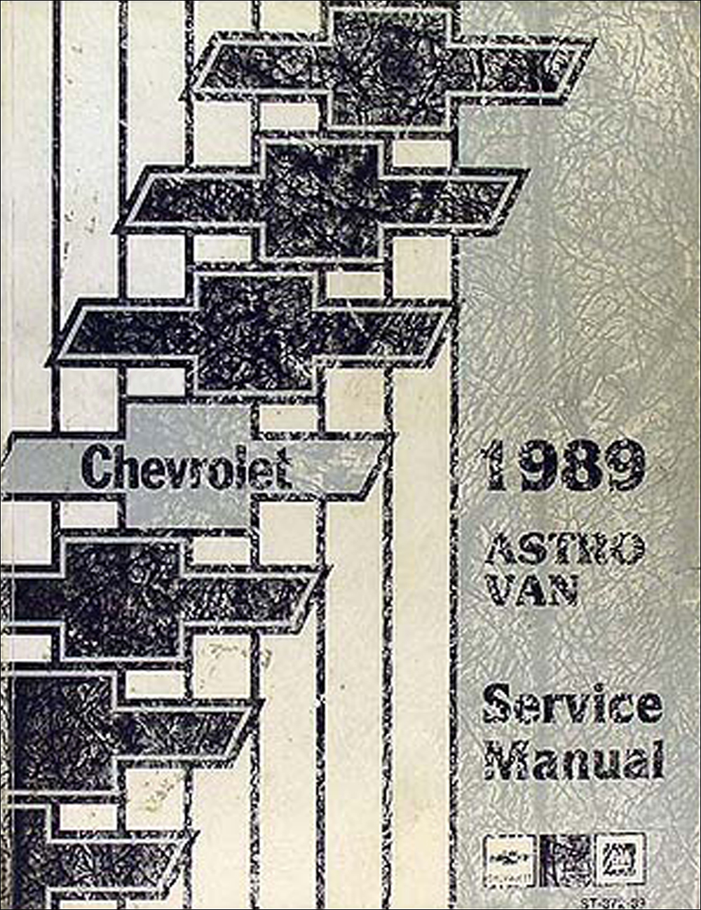 1989 Chevrolet Astro Van Shop Manual Original