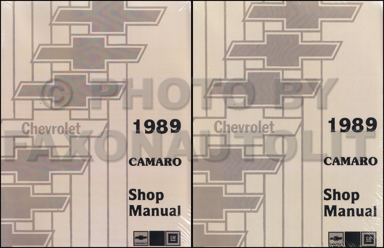 89 camaro schematic 1989 chevy camaro repair shop manual reprint 2 volume set  1989 chevy camaro repair shop manual
