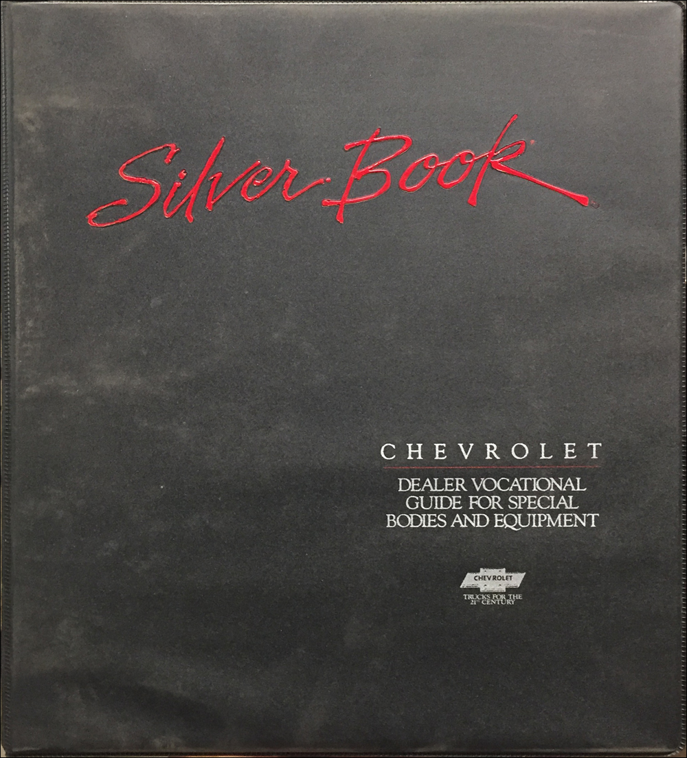1989 Chevrolet Truck Silver Book Special Equipment Dealer Album