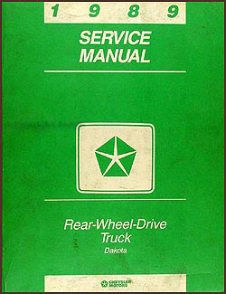 1989 Dodge Dakota Repair Manual Original