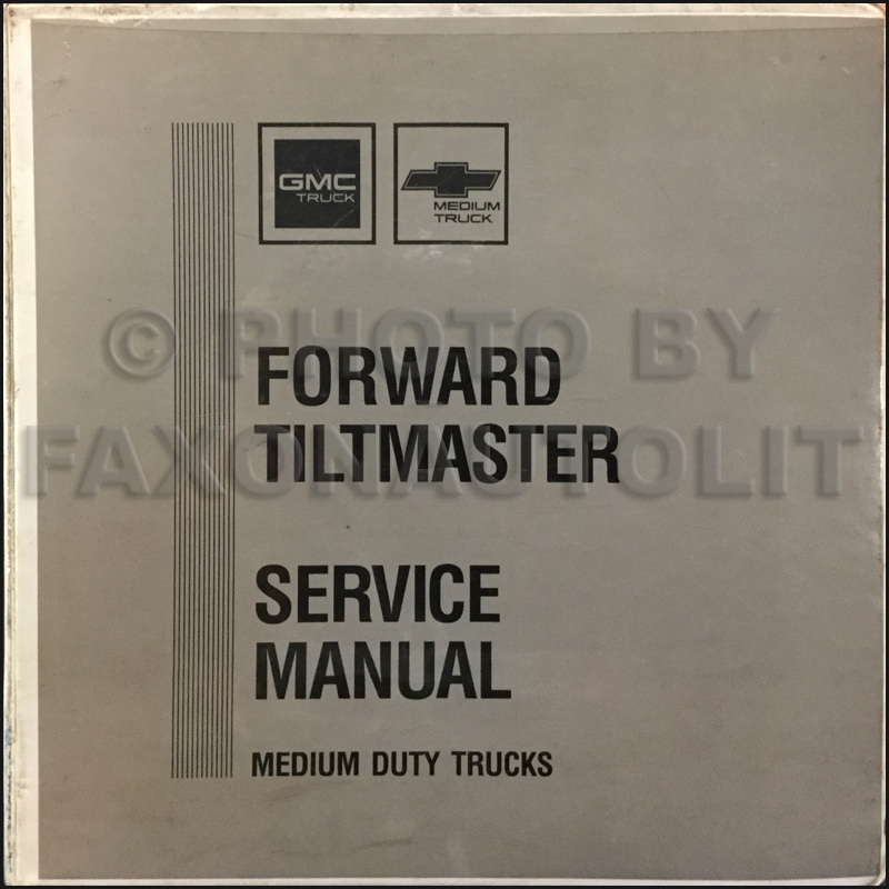 1989 NRR, FSR, FTR, FVR, EVR, W5-W7 Repair Shop Manual Factory Original