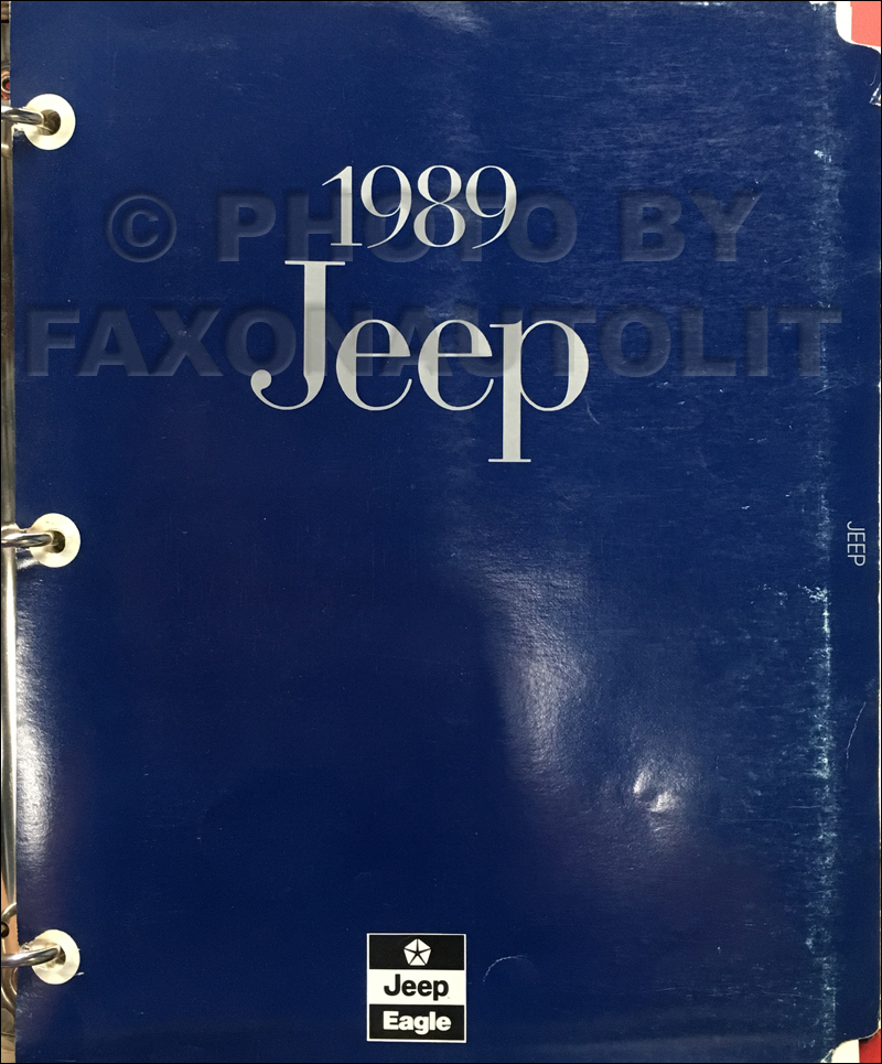 1989 Jeep/Eagle Sales Training Dealer Album