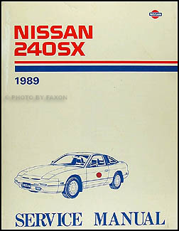 1989 Nissan 240SX Repair Manual Original