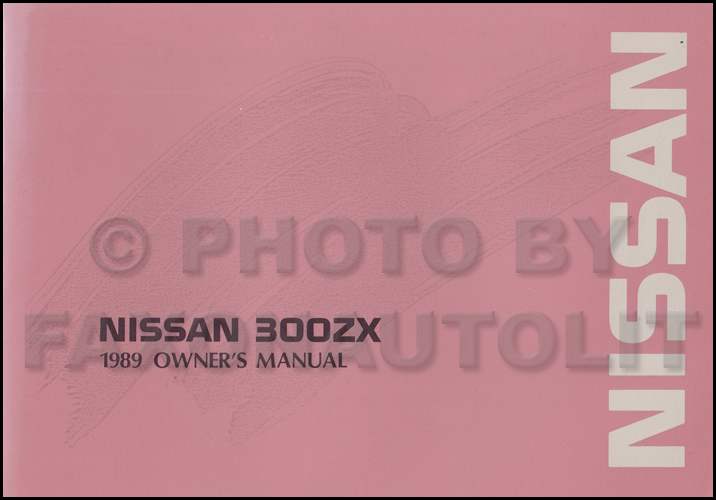 1989 Nissan 300zx Wiring Diagram Manual Original
