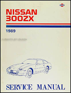 1989 Nissan 300ZX Repair Manual Original