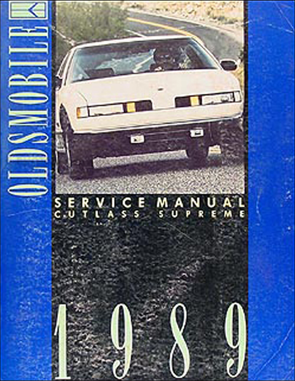 Search 94 Oldsmobile Cutl Supreme Wiring Diagram 1989 Cutlass Repair Manual Original