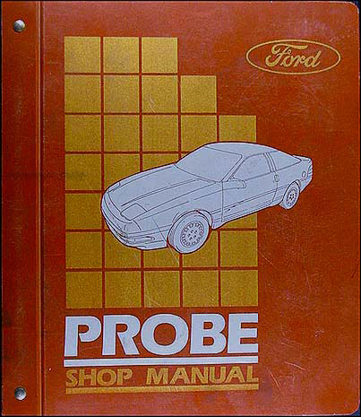 1989 Ford Probe Repair Manual Original