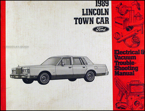 1989 lincoln town car electrical and vacuum troubleshooting manual  faxon auto literature