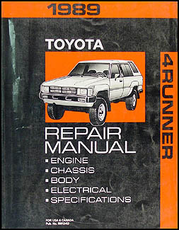 search rh faxonautoliterature com 1987 toyota 4runner service manual 2005 Toyota 4Runner Parts